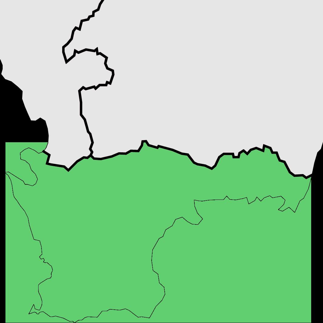 Blekinge och Skåne län,